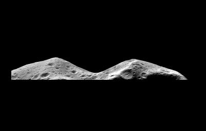 Asteroid Ida - Limb at Closest Approach