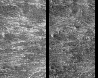 Venus - Stereoscopic Images of Volcanic Domes