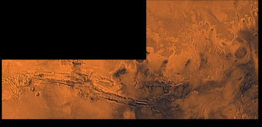 Valles Marineris and Chryse Outflow Channels