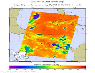 Tropical Storm Bonnie as Observed by NASA's Spaceborne Atmospheric 