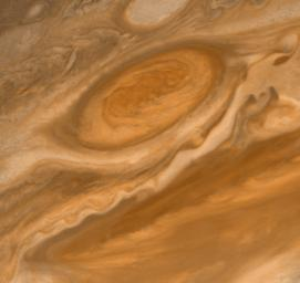 Jupiter's Great Red Spot and South Equatorial Belt
