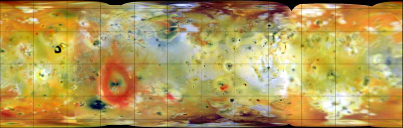 Color Global Mosaic of Io