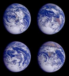 Global Images of Earth