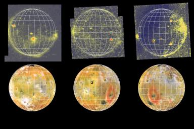 Eclipse Images of Io (3 views)