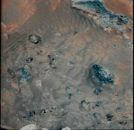 Wind Effects on Martian Soil