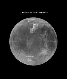 NIMS E4 Observations of Europa Trailing Hemisphere