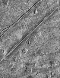 Dome Shaped Features on Europa's Surface