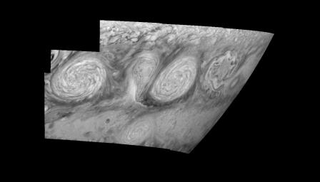 Jupiter's Long-lived White Ovals in the Near-Infrared (Time Set 4)
