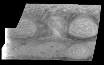 Jupiter's Long-lived White Ovals in the Near-Infrared (Time Set 2)