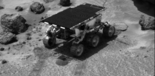 Rover Soil Experiments Near