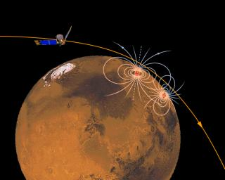 Magnetic Sources in the Crust of Mars