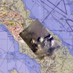 This map corresponds to NASA's KidSat image MET 00215424 of the northern regions of Sumatra that was captured on Sept., 1997 during the Shuttle flight STS-86.