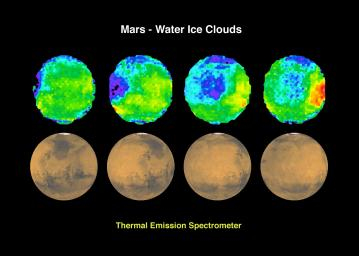 Mars - Water Ice Clouds