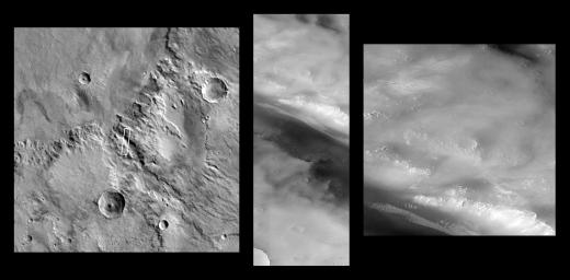 Valley and Surrounding Terrain Adjacent to Schiaparelli Crater