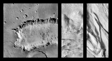 Complex Floor Deposits Within Western Ganges Chasma, Valles Marineris