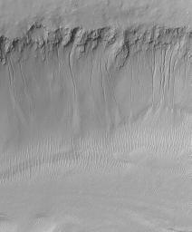 Evidence for Recent Liquid Water on Mars: South-facing Walls of Nirgal Vallis