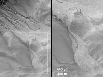 Evidence for Recent Liquid Water on Mars: Channels and Aprons in East Gorgonum Crater