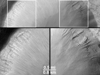 Evidence for Recent Liquid Water on Mars: