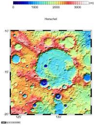 Regional Topographic Views of Mars from MOLA