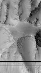 Layers within the Valles Marineris: Clues to the Ancient Crust of Mars - High Resolution Image