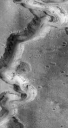 Nanedi Vallis: Sustained Water Flow? - High Resolution Image