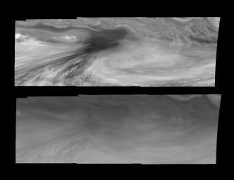Jupiter's Equatorial Region in the Near-Infrared and Violet (Time Set 2)