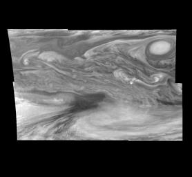 Jupiter's Equatorial Region in the Near-Infrared (Time Set 1)