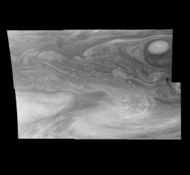 Jupiter's Equatorial Region in a Methane Band (Time Set 1)