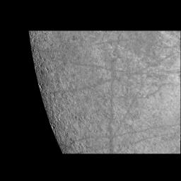 Near-Terminator Image of Europa