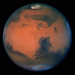 Hubble's Sharpest View Of Mars
