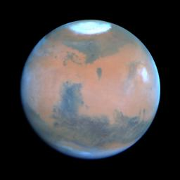 Springtime on Mars: Hubble's Best View of the Red Planet