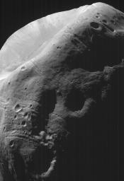 High-Resolution MOC Image of Phobos