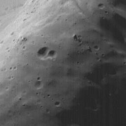 High-Resolution MOC Image of Phobos' Face