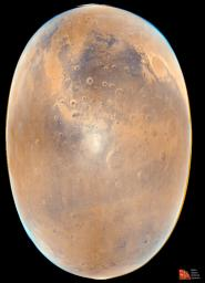 Opposition Surge: Sunlight Glinting off Mars