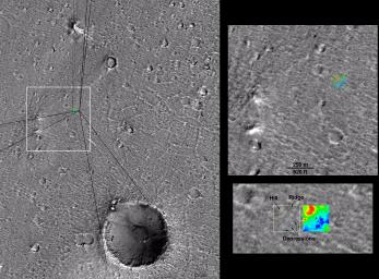 Mars Pathfinder First Anniversary Special -- Refined Landing Site Location