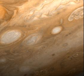 Jupiter - Southeast of Great Red Spot