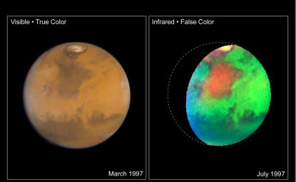 Martian Colors Provide Clues About Martian Water