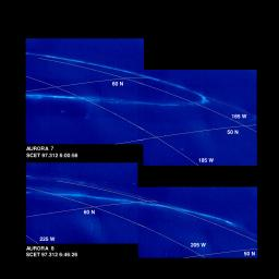 Time Series of Jupiter's Aurora