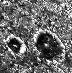 Dark-floored Impact Craters on Ganymede
