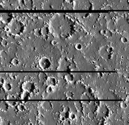 Callisto's Varied Crater Landscape