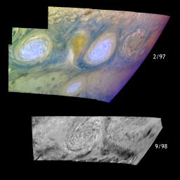 Historic Merger of Storms on Jupiter