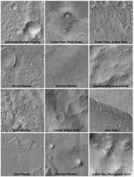 Mars Surfaces at 15.6�N Latitude, March 1999
