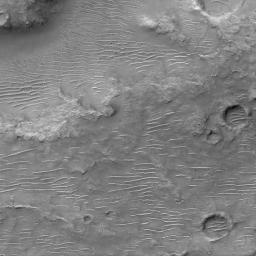 Ripples on Cratered Terrain North of Hesperia Planum