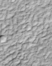 A Complex, Ridged Terrain in North Terra Cimmeria