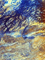 Space Radar Image of Safsaf, North Africa