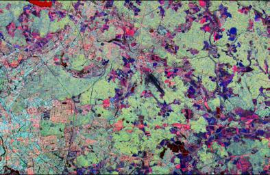 Space Radar Image of Star City, Russia
