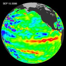 In September 2006, NASA satellite data indicated that El Ni�o had returned to the tropical Pacific Ocean, although it was relatively weak.