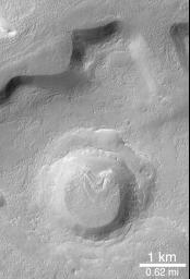 Fretted Terrain Crater