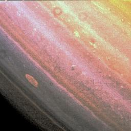 Saturn's Red Spot