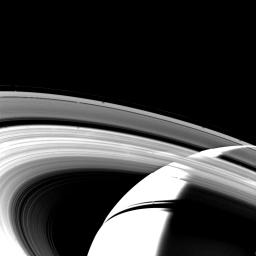 Crescent of Saturn